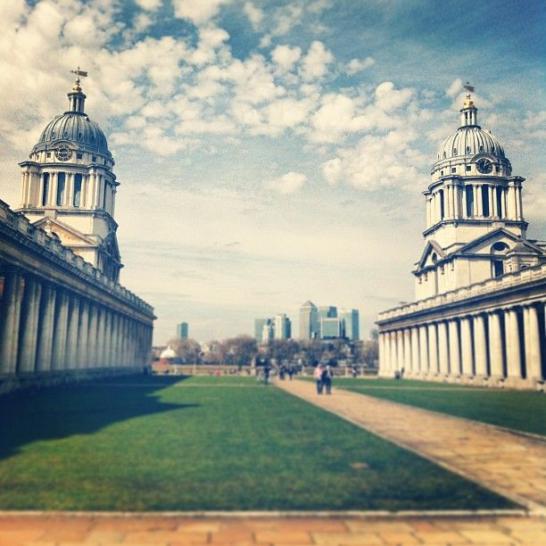Old Royal Naval College in Greenwich Worked there from 2008 to 2011!