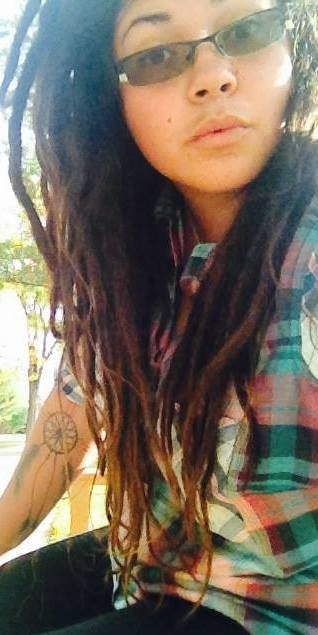 These were my dreads at a couple of months
