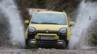 FIAT Panda 4x4 Cross 1.3 MTJ 95 PS MY2017 by drive.gr