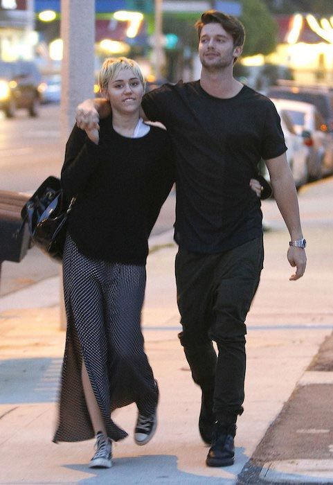 Patrick Schwarzenegger and Miley Cyrus...
