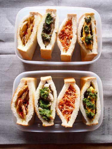 Pouched Sandwich Bento