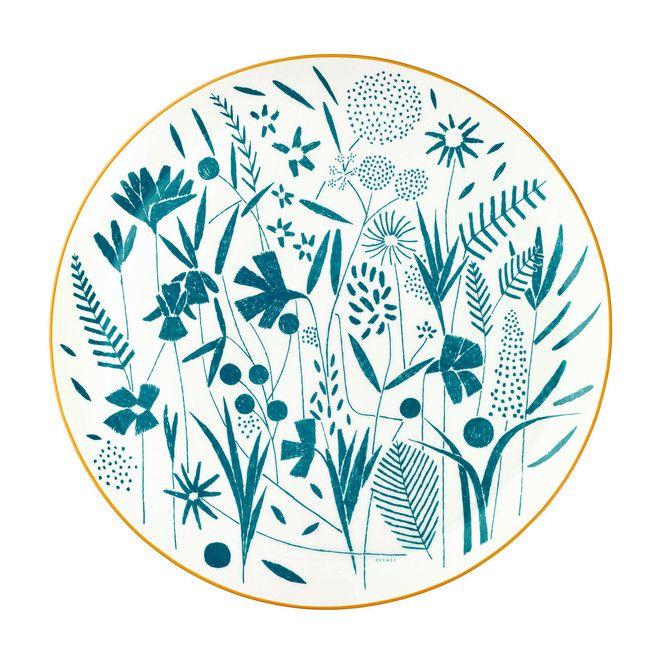 エルメス イングリッシュガーデンに着想したテーブルウェア20種類を発売 画像あり テーブルウェア エルメス ロゴ テキスタイル デザイン