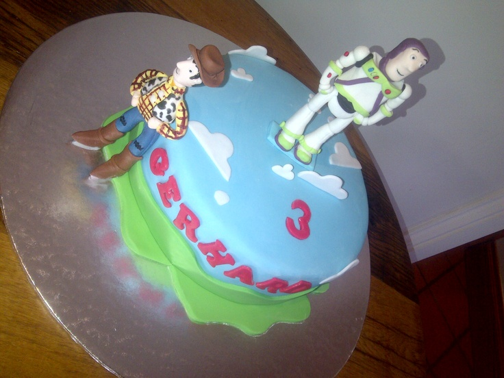 Buzz and Woody Cake by Jean. +27115401538 www.facebook.com/thefoodemporiumsa