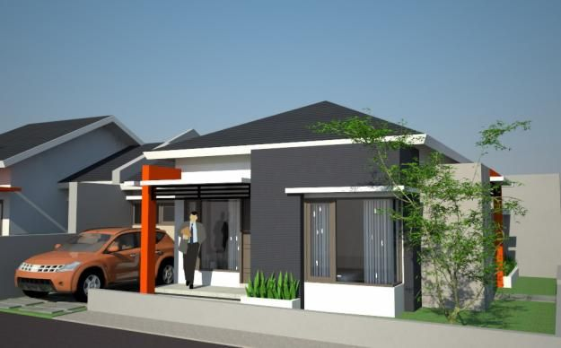 Desain Rumah Sederhana Bentuk Kotak Desain Desain Produk Rumah