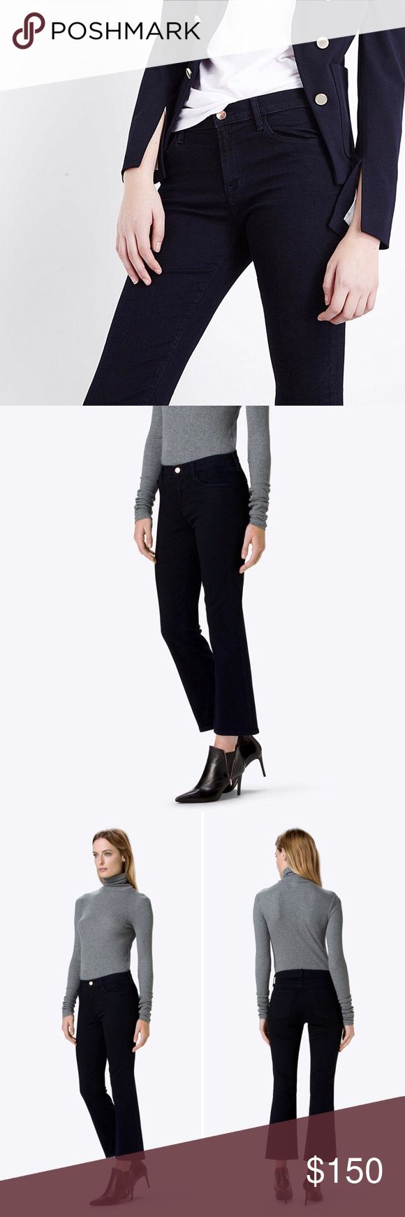 """J BRAND JEANS Selena Mid-Rise Crop Boot Cut jeans by J Brand.   - In color """"Bluebird"""". - Brand new with tags, never worn. - These are straight from the pattern-maker & tagged accordingly. - Photos provided by J Brand site. J Brand Jeans Boot Cut"""