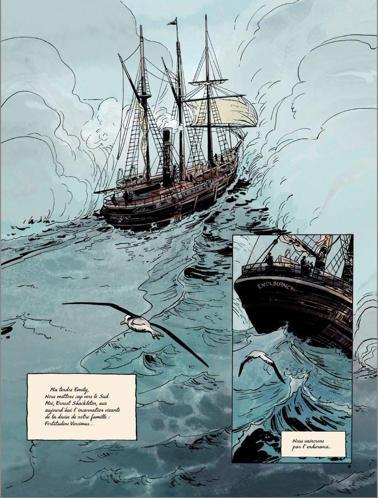 Sur les Bords du Monde -L'Odyssee de Sir Ernest Shackleton (2 vol. inacabat)