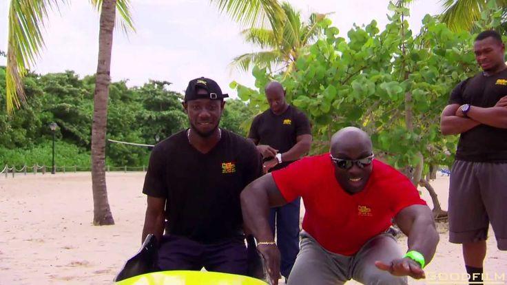 Jamaica Bobsleigh Team Olympic training on Island, No Snow, No Ice, No Problem!