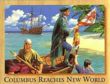 Columbus discovers Cuba