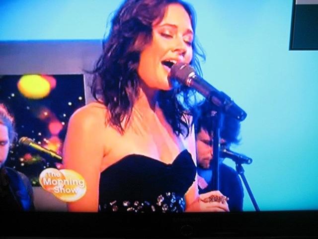 Danielle Blakley on the Morning Show