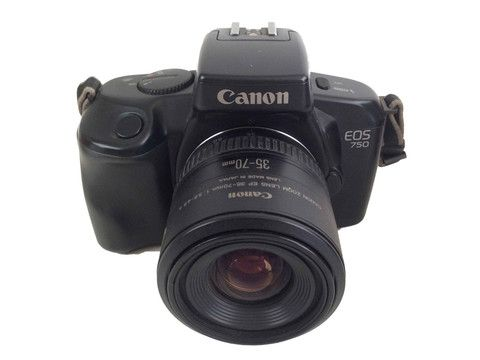 Canon EOS 750 With ROWI Carry Bag – Junkie Charity Store