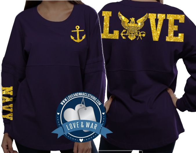 Love Navy varsity crew - LOVEANDWARCLOTHING