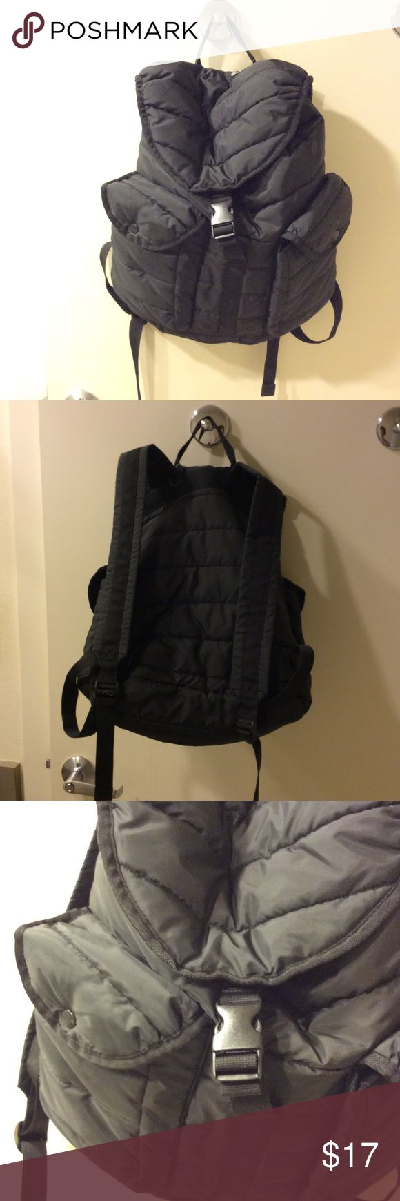 Uniqlo Backpack Brand new without tag. Looks like Prada. Uniqlo Bags Backpacks