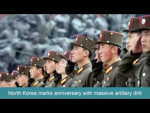 Breaking News Today | North Korea marks anniversary with massive artille...