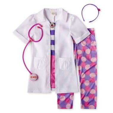Disney 4-pc. Doc McStuffins Costume – Girls 2-8  found at @JCPenney                                                                                                                                                      More