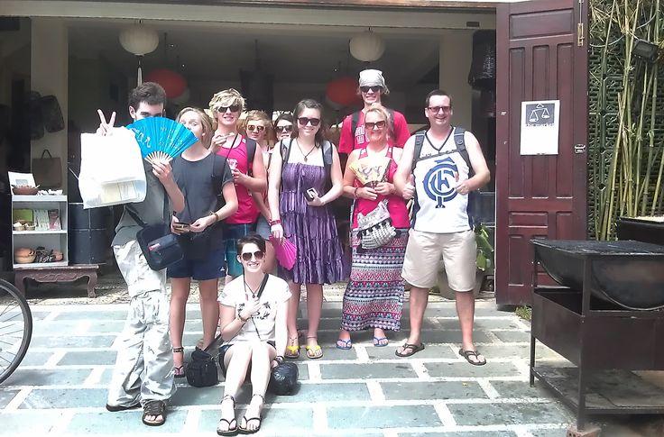 Leaving The Market restaurant in Hoi An #HoiAn #VietnamSchoolTours