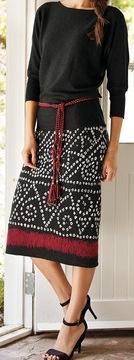 3/4 skirt bandini