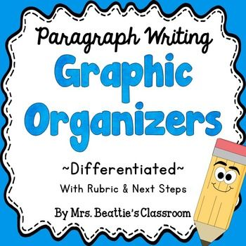 Graphic Organizers: These three paragraph writing graphic organizers and rubric will help your students achieve success with writing paragraphs! You can easily differentiate your paragraph writing instruction to support all of your students.Be sure to take a look at the preview!More Great Writing Resources:Monthly No-Prep Writing & Word Work ResourcesWriting Prompts: 80+ QR Code Prompts to Motivate Young WritersWriting Process Monitoring Chart RainbowWriting Goals Monitoring Chart Rainbow...