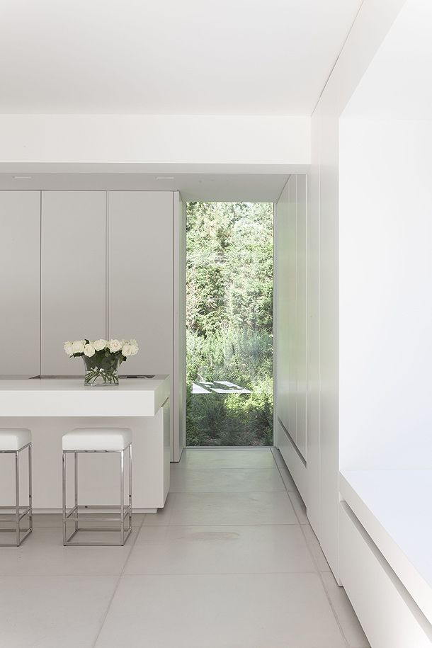 Beautiful placed window. Interior by Minus.
