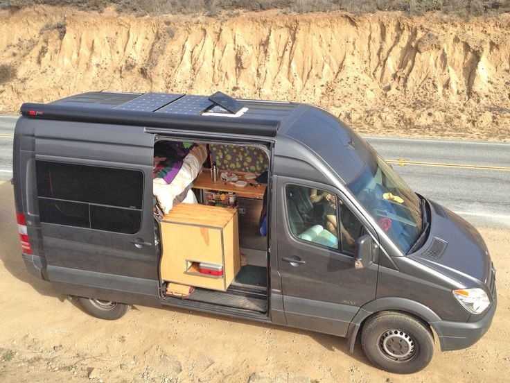 The AdventureMobile Sprinter Hits the Road - Sprinter RV
