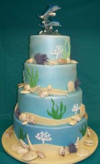 1000 Ideas About Dolphin Cakes On Pinterest Buttercream