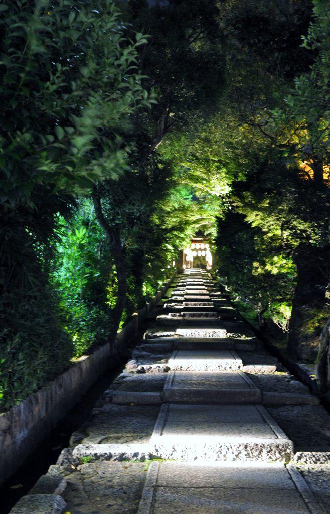 高台寺 石段