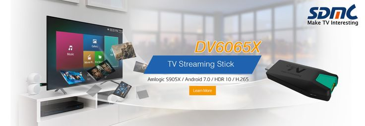 DV6065X Quad-core Android HDMI TV Steaming Stick Built-in 3D Accelerator.