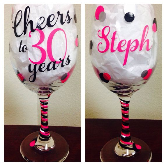 Best 25 birthday wine glasses ideas on pinterest for Cute quotes for wine glasses