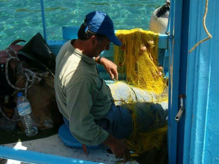 Fourni, local fisherman