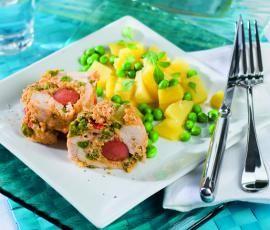 Recept Kuřecí závitky od Vorwerk vývoj receptů - Recept z kategorie Hlavní jídla - maso