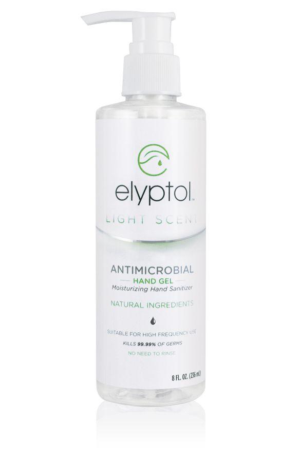 Antimicrobial Hand Sanitizer Gel 8oz Hand Sanitizer Natural