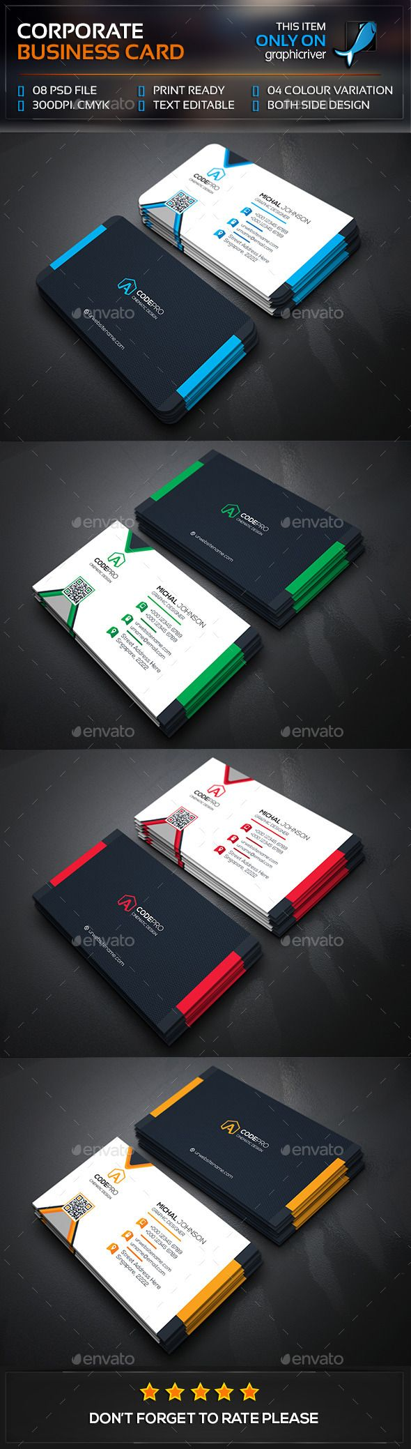 542 best Business Card images on Pinterest | Business card design ...