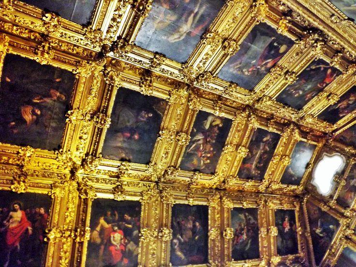 Tecto do coro-alto do Convento da Madre de Deus, Lisboa, Portugal