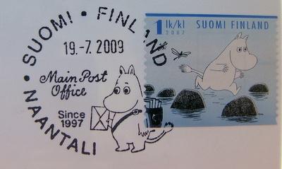 Finnish postmark.