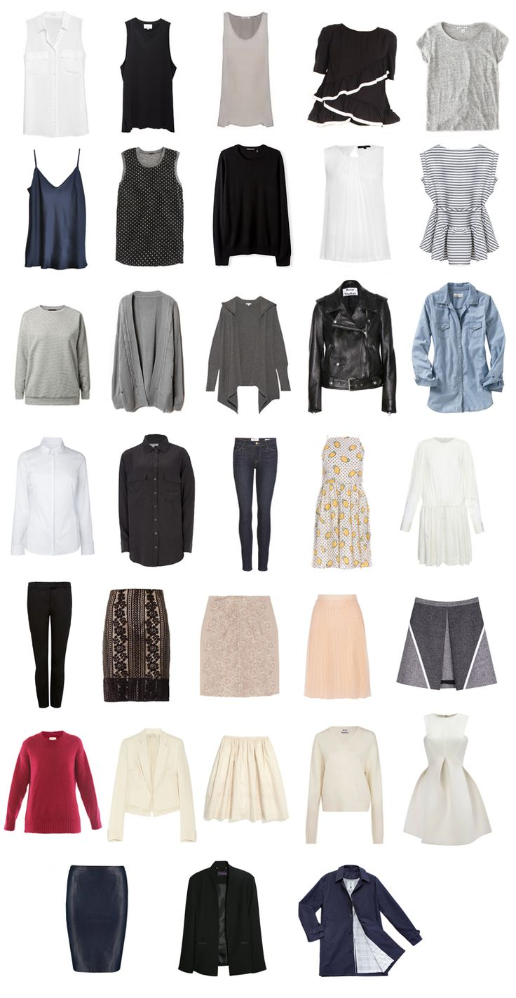 Fall Capsule Wardrobe From H M: Top 25+ Best Project 333 Ideas On Pinterest