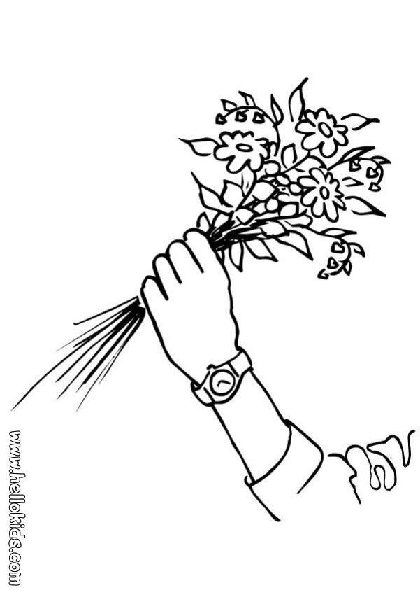 you can print out this bunch of flowers coloring page perfect coloring sheet for kids
