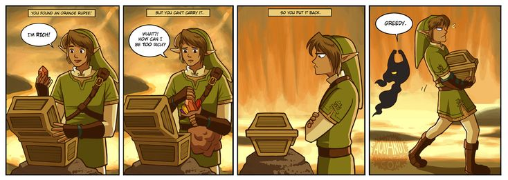 The Legend of Zelda: Twilight Princess, Link and Midna / Finders Keepers by aquanut on deviantART