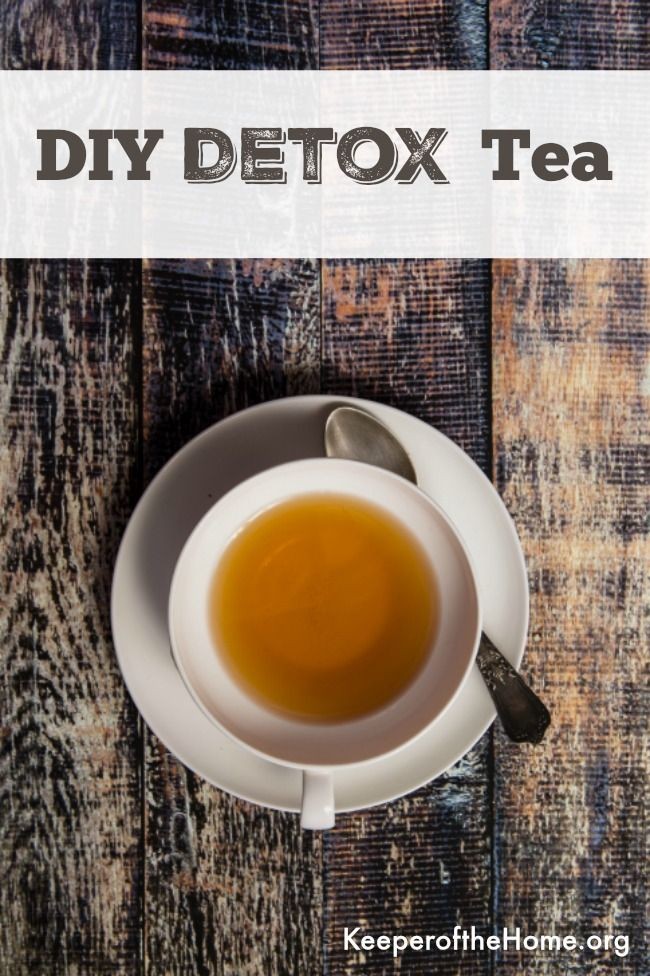 Did you overindulge over the holidays? This herbal detox tea will help flush and support your system back to better health!