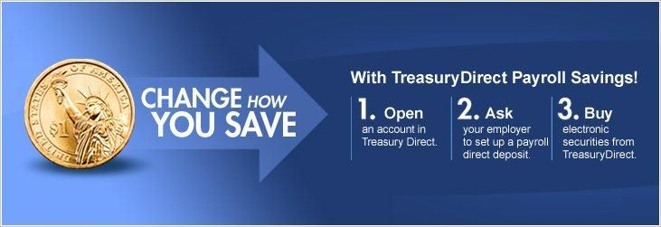TreasuryDirect is the first and only financial services website that lets you buy and redeem securities directly from the U.S. Department of the Treasury in paperless electronic form. We offer product information and research across the entire line of Treasury securities, from Series EE Savings Bonds to Treasury Notes. Our TreasuryDirect accounts offer Treasury Bills, Notes, Bonds, Inflation-Protected Securities, and Series I and EE Savings Bonds in electronic form in one convenient account.
