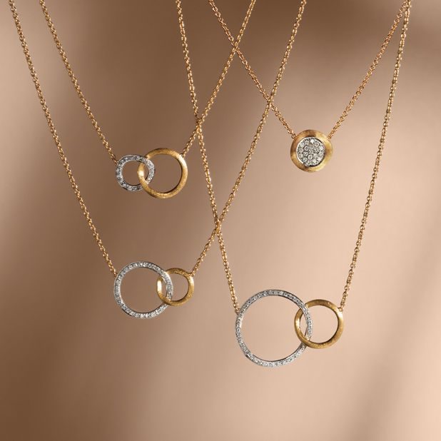 Shop women's necklaces at the Official Marco Bicego website/Online Boutique. Shop by collection, price, or size.