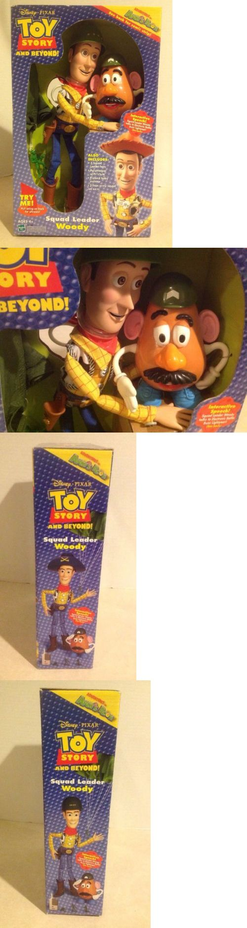 Toy Story 19223: Toy Story Squad Leader Woody W Pull String Rare New Old Stock And Beyond Vintage -> BUY IT NOW ONLY: $84.95 on eBay!