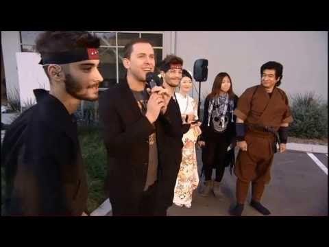 1D DAY - One Direction Doing Ninjutsu, Wrestling & Modelling - YouTube