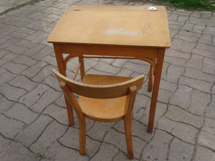 17 meilleures id es propos de bureau ecolier sur pinterest pupitre pour b - Chaise d ecolier vintage ...