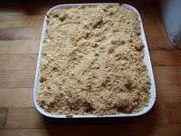 Easy Apple Crisp from Transparent Apples