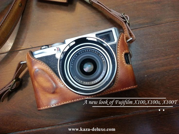Cow leather case for Fujifilm X100T X100S / Fujifilm X100 include leather full case and leather strap by nelisgood on Etsy https://www.etsy.com/uk/listing/91633035/cow-leather-case-for-fujifilm-x100t