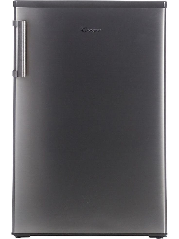 Candy CCTOS542XH - ett litet kylskåp med frysfack. Det är är 85 cm högt rostfritt kylskåp i energiklass A+, idealisk för det lilla köket.