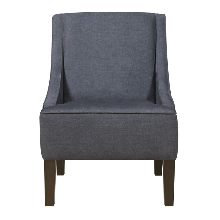 Dark Denim Dining/Accent Chair