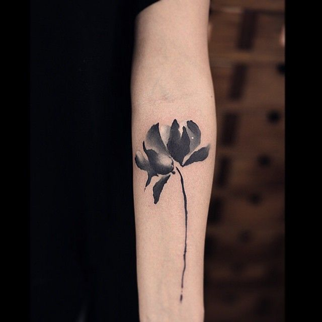 flower tattoo watercolor - Buscar con Google