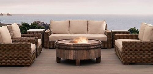 Antigua Collection contemporary patio furniture and