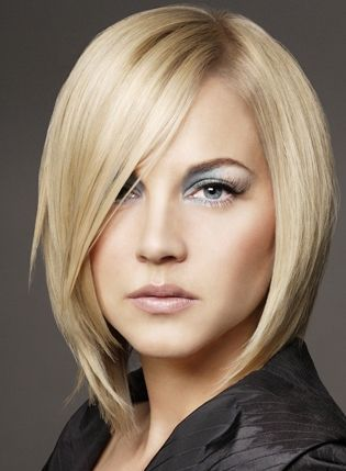 Layered Haircuts For Round Faces | Layered bob hairstyles 2012 are best for thin and straight hair