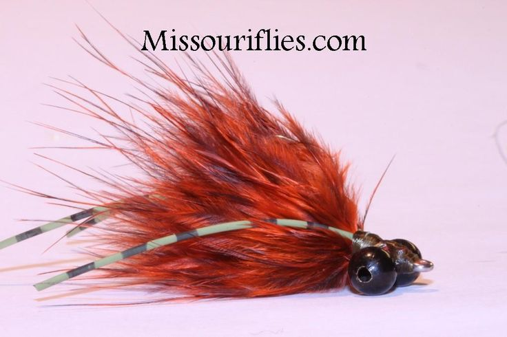 New Carp Flies Barred Marabou double legs (5)
